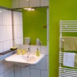 La salle de bain de la chambre Verger